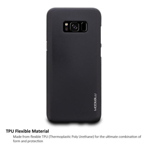 Galaxy S8 Case M-Gel Metallic TPU Gel Series Cover - ModeBlu