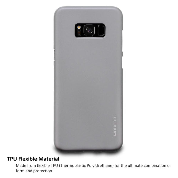Galaxy S8 Plus Case M-Gel Metallic TPU Gel Series Cover - ModeBlu
