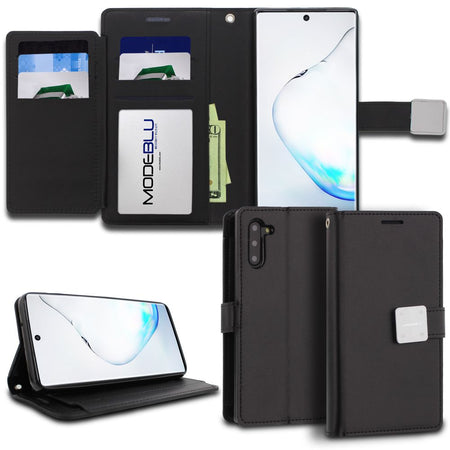 Galaxy Note 10 Plus Case Mode Diary Wallet Cover - ModeBlu