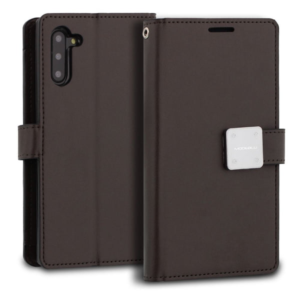 Galaxy Note 10 Case Mode Diary Wallet Cover - ModeBlu