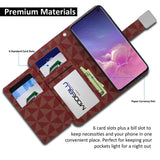 Galaxy S10 Case Mode Diary Pattern Series Wallet Cover - ModeBlu
