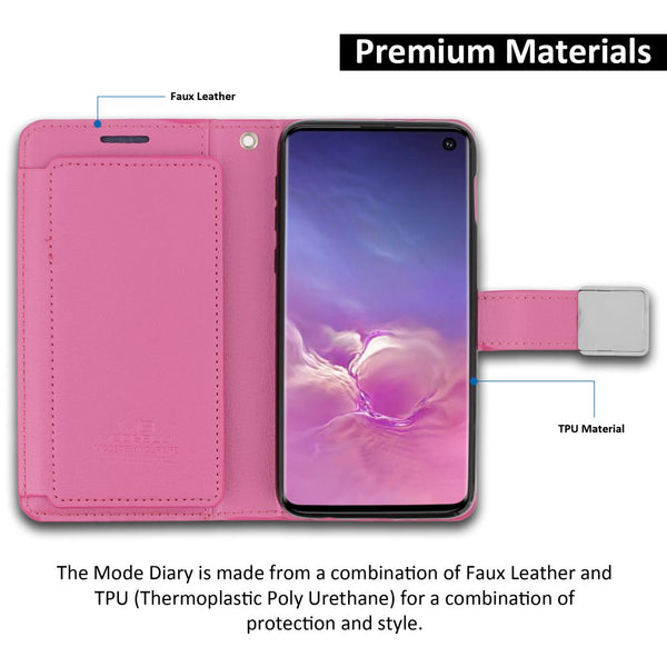 Galaxy S10e Essential Case Mode Diary Wallet Cover - ModeBlu