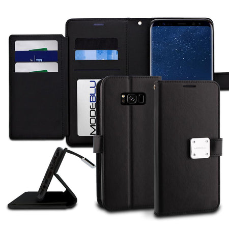 Galaxy Note 10 Case Mode Diary Pattern Series Wallet Cover - ModeBlu