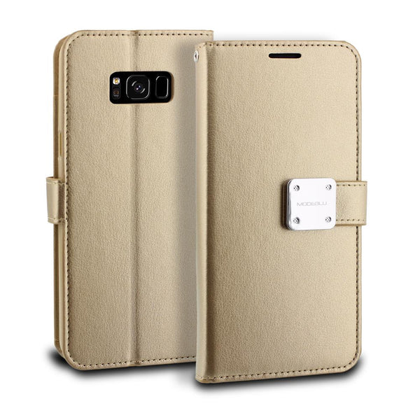 Galaxy S8 Case Mode Diary Wallet Cover - ModeBlu