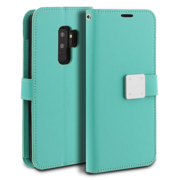 Galaxy S9 Plus Case Mode Diary Wallet Cover - ModeBlu