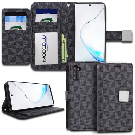 iPhone 7 Plus Case Mode Diary Pattern Series Wallet Cover - ModeBlu