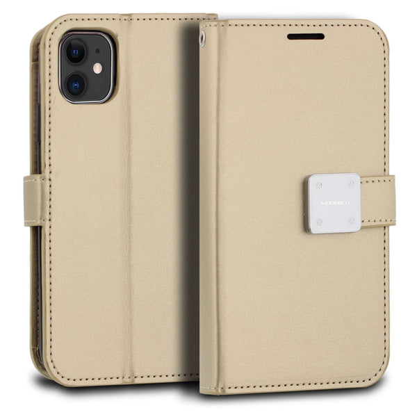 iPhone 11 Case Mode Diary Wallet Cover - ModeBlu