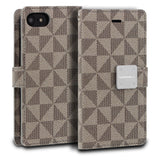iPhone 7 Case Mode Diary Pattern Series Wallet Cover - ModeBlu