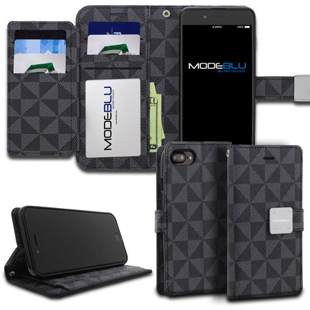 iPhone XS Max Case Mode Diary Pattern Series Wallet Cover - ModeBlu