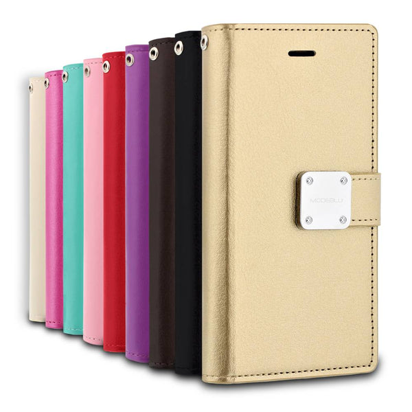 iPhone 8 Case Mode Diary Wallet Cover - ModeBlu