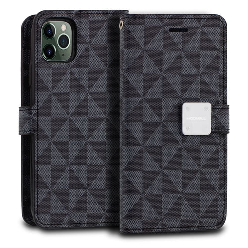 iPhone 11 Pro Max Case Mode Diary Pattern Series Wallet Cover - ModeBlu