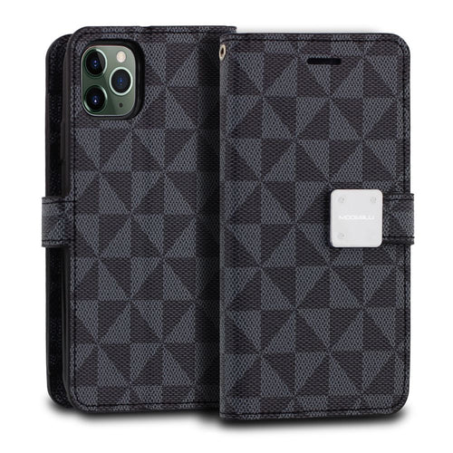 iPhone 11 Pro Case Mode Diary Pattern Series Wallet Cover - ModeBlu