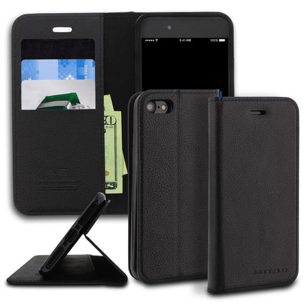 iPhone 6s Plus Case Magnetic Portfolio Series Wallet - ModeBlu