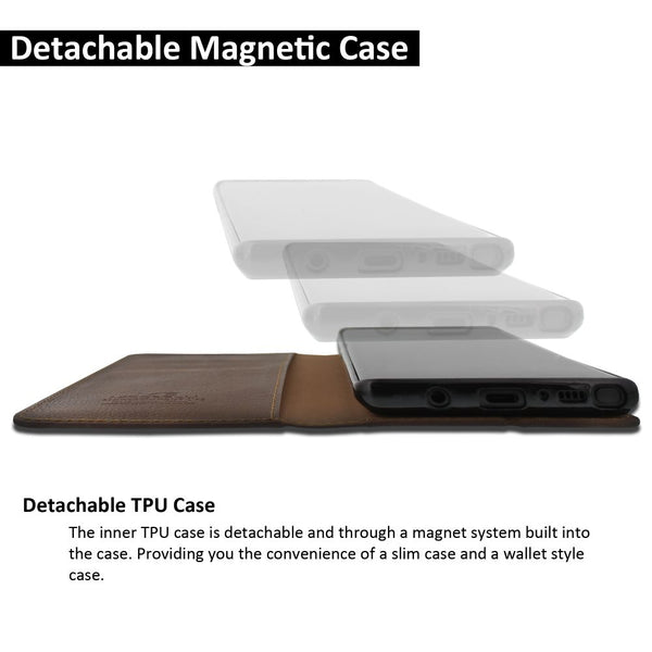 Galaxy Note 9 Case Magnetic Portfolio Series Wallet - ModeBlu