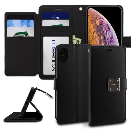 Galaxy S4 Case Mode Diary Wallet Cover - ModeBlu