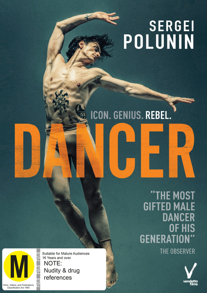 Dancer DVD - Academy Shop