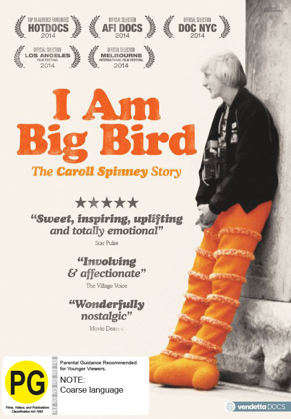 I Am Big Bird: The Caroll Spinney Story (DVD)