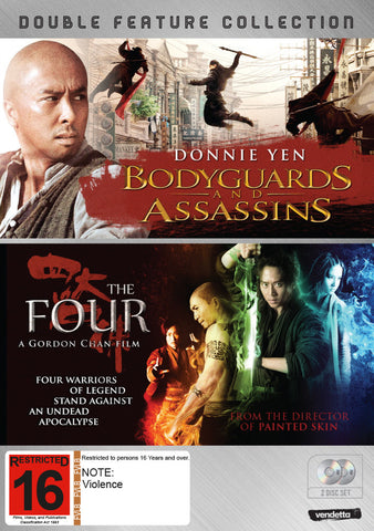 Double Pack: Bodyguards and Assassins & The Four (2DVD)