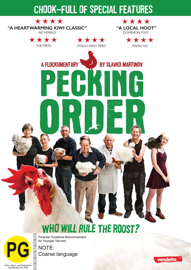 Pecking Order DVD - Academy Shop