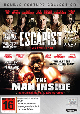 Double Pack: The Escapist & The Man Inside (2DVD)