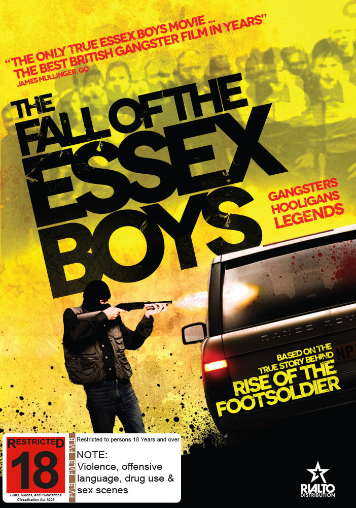 The Fall of the Essex Boys (DVD)