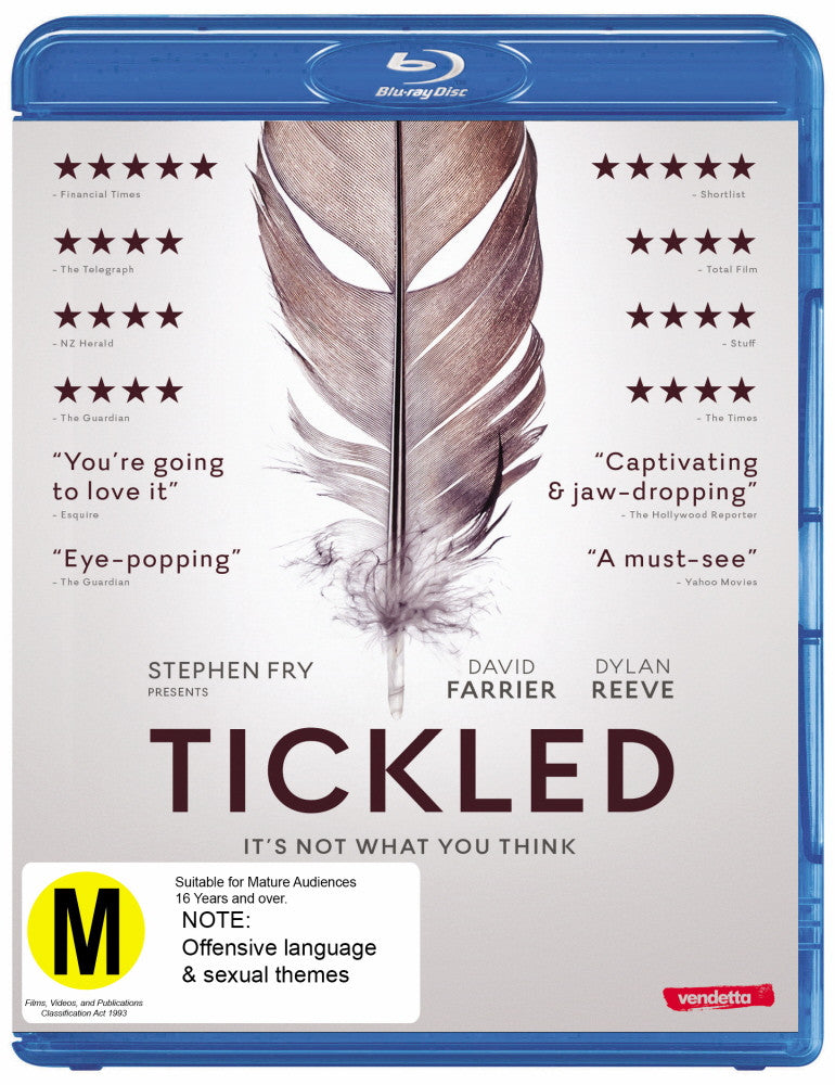 Tickled (Blu-ray)