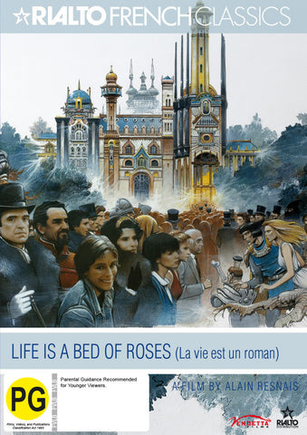 Life Is A Bed Of Roses (DVD)