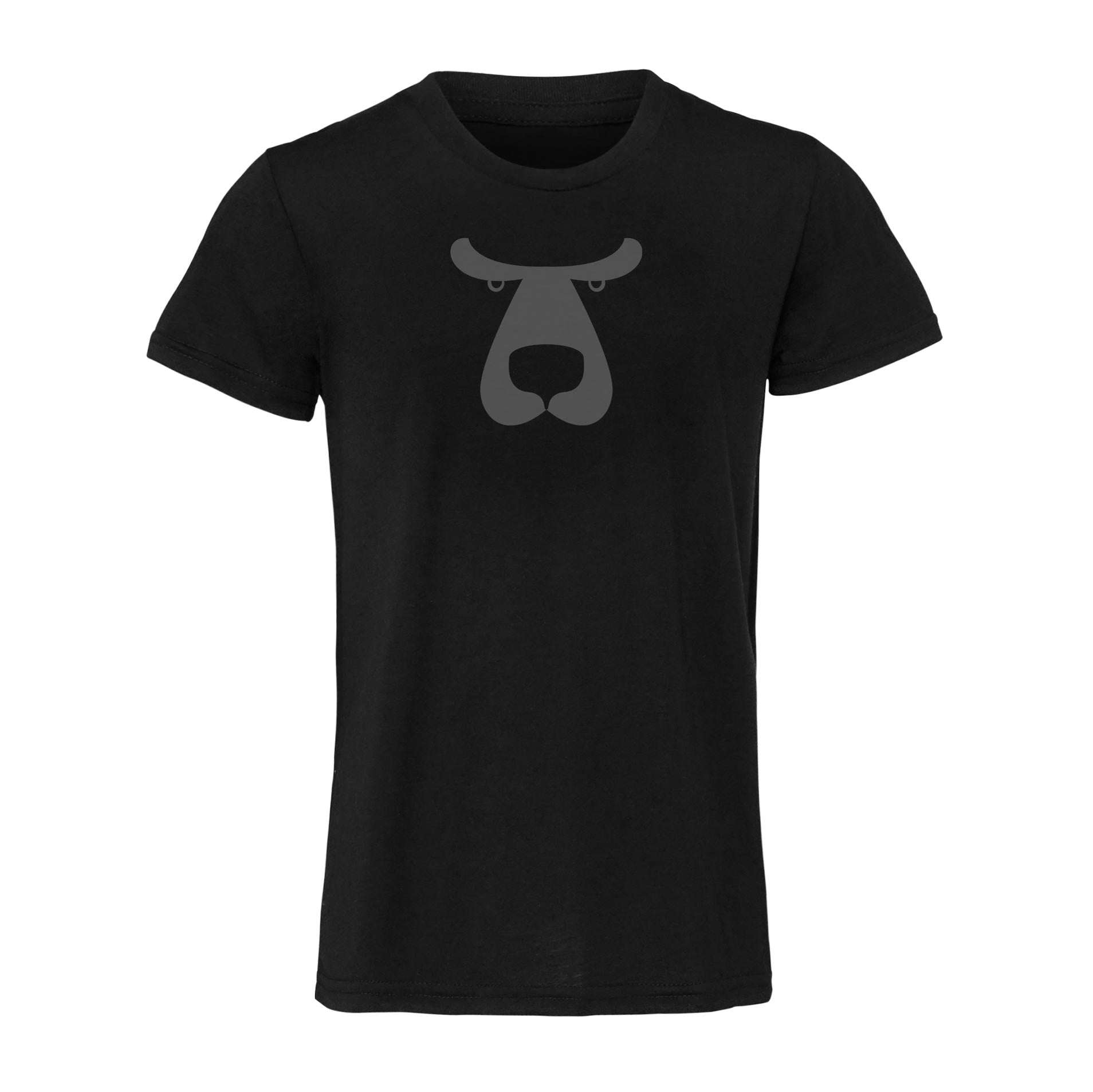 Backroom Bear Tee - Black/Gray