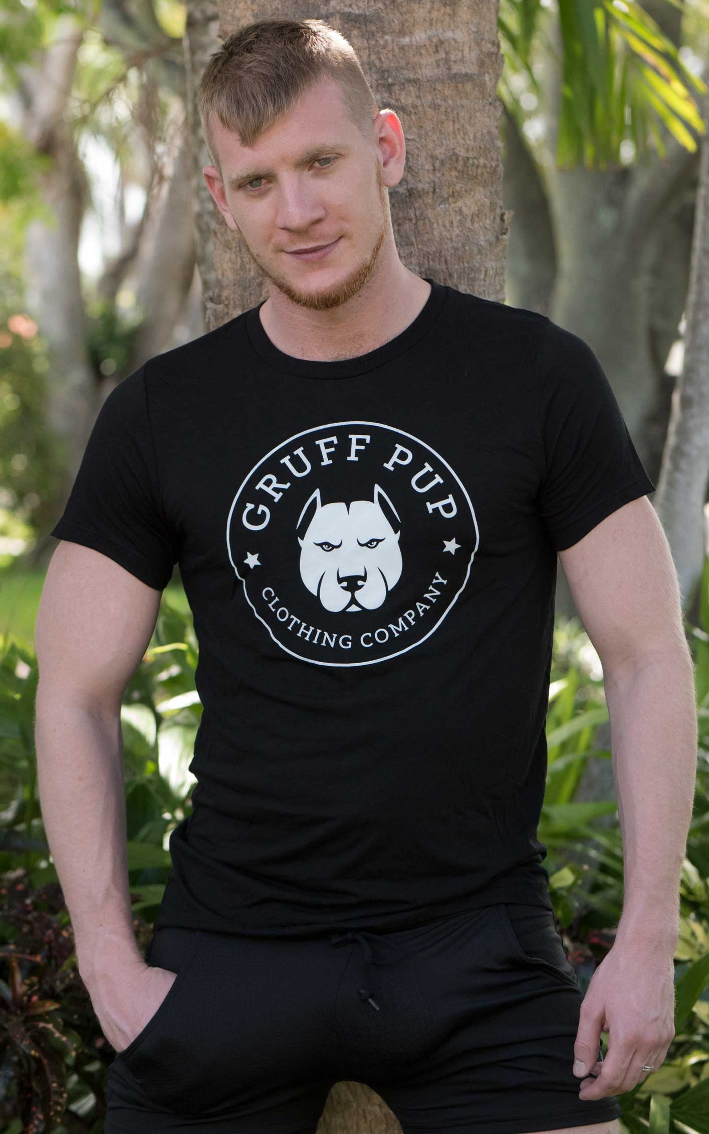 Gruff Pup Big Bear Caulk Company Tee