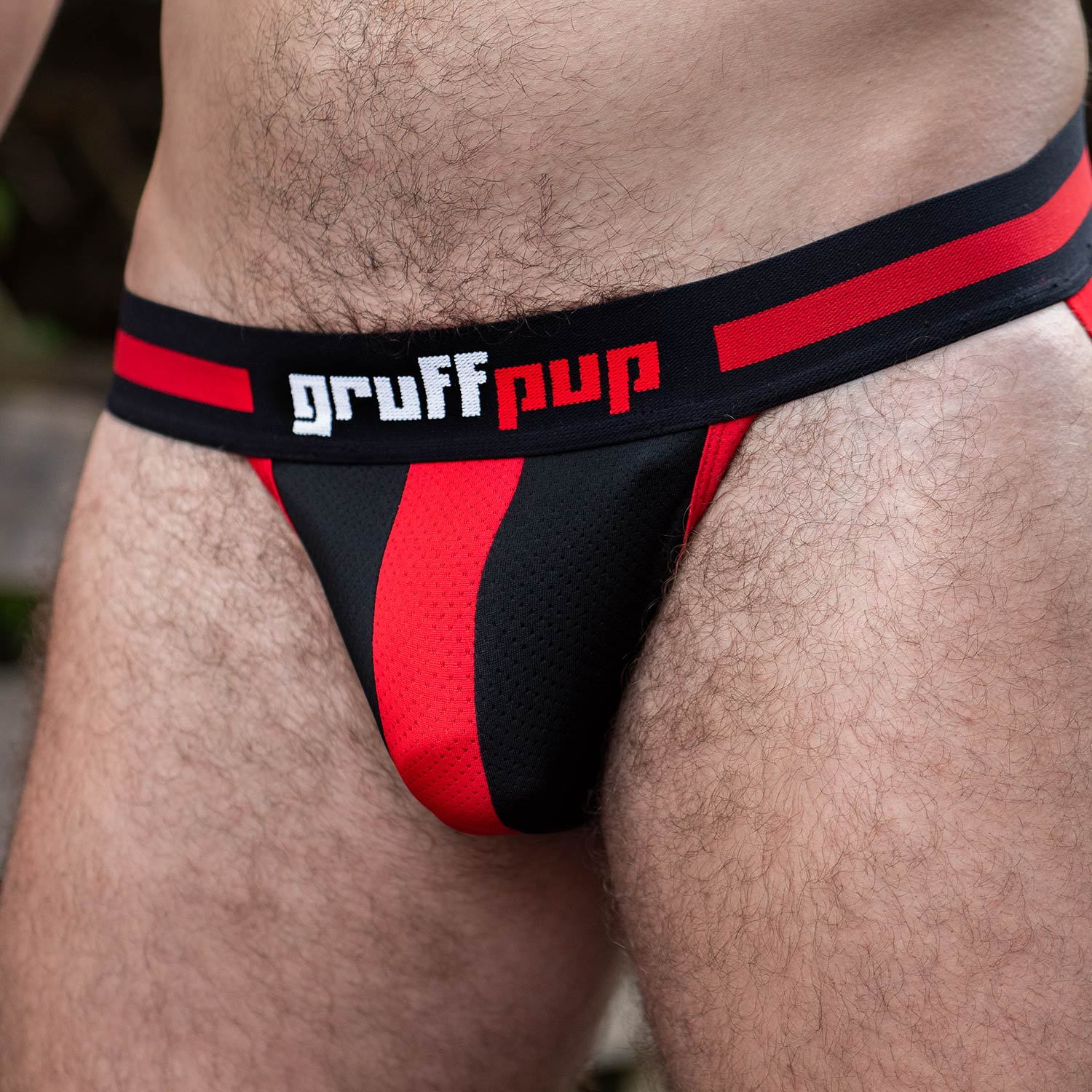 Gruff Pup Impulse Jock - Red