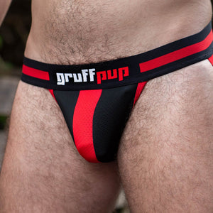 Gruff Pup Impulse Jock - Red Doorbuster!