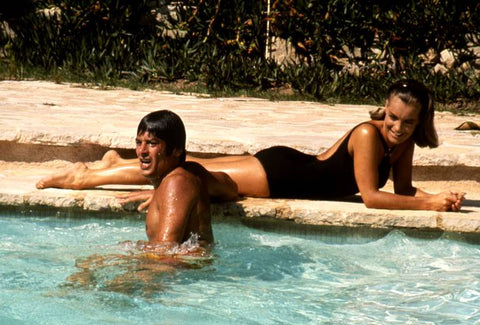 While you are tanning: watch La Piscine 1969.