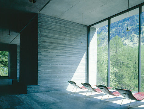 Destination: 7132 Vals, Thermal Baths and Hotel, Switzerland