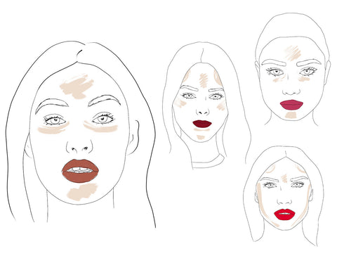 How To: illuminate specifically for your face shape.