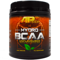 APTech HYDRO BCAA Unflavored 75 Servings 450 grams