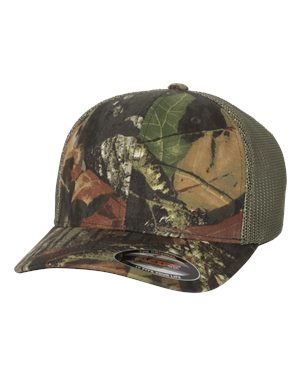 Flexfit - Mossy Oak Stretch Mesh Cap - 6911