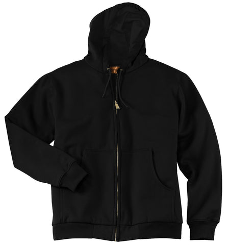 CornerStone Heavyweight Full-Zip Hooded Sweatshirt with Thermal Lining CS620
