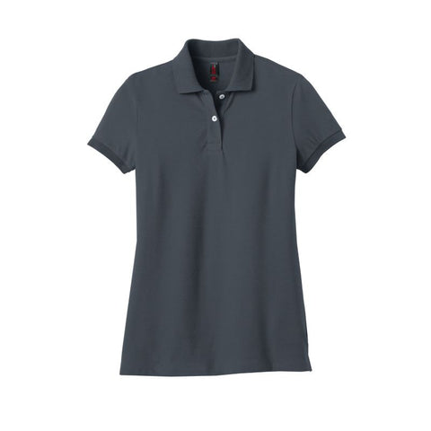 District Made Ladies Stretch Pique Polo  DM425