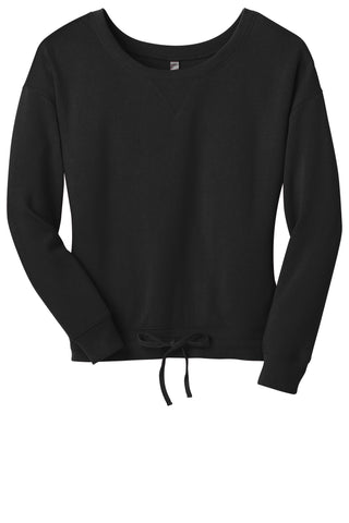 District Juniors Core Fleece Wide Neck Pullover DT293