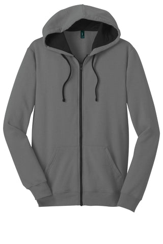 District Young Mens The Concert Fleece Full-Zip Hoodie DT800