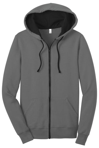 District Juniors The Concert Fleece Full-Zip Hoodie DT801