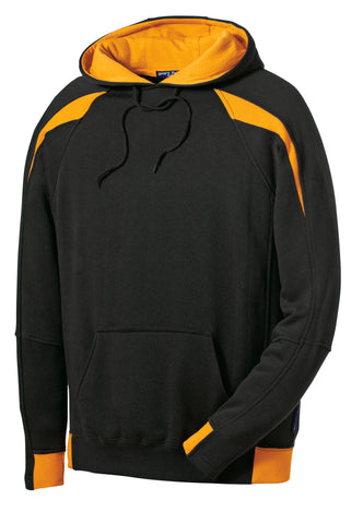 Sport-Tek Color-Spliced Pullover Hooded Sweatshirt F266
