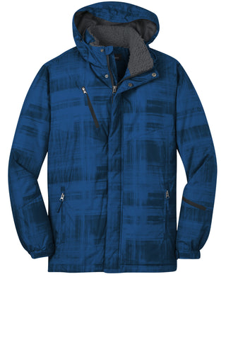 Port Authority Brushstroke Print Insulated Jacket J320