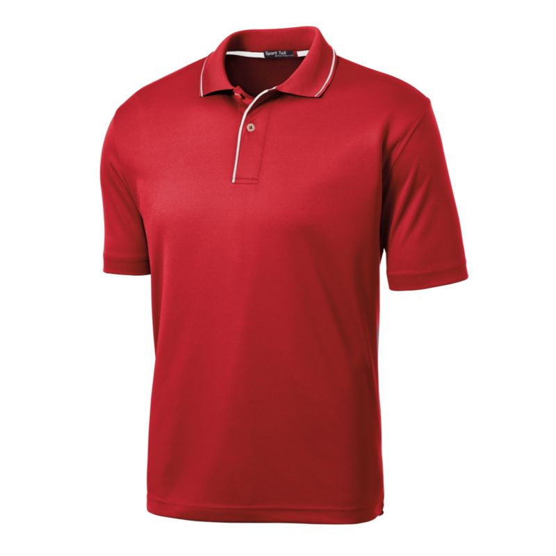 c9521d9c Sport Tek Dri Mesh Polo with Tipped Collar and Piping K467   Epic ...