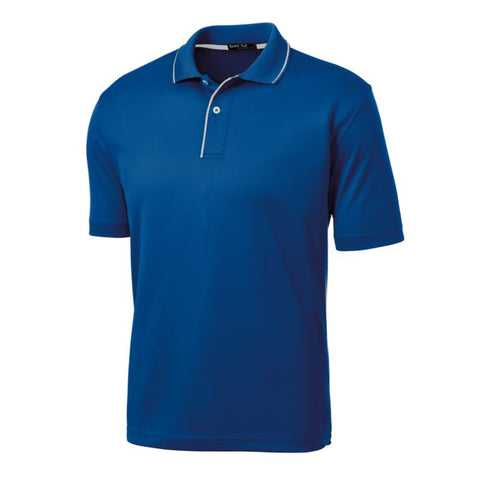 Sport Tek  Dri Mesh Polo with Tipped Collar and Piping  K467