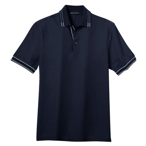 Port Authority Silk Touch Tipped Polo K502