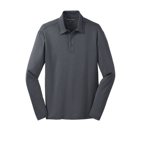 Port Authority Silk Touch Performance Long Sleeve Polo  K540LS