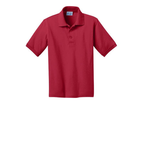 Port & Company Youth 5.5-Ounce Jersey Knit Polo  KP55Y