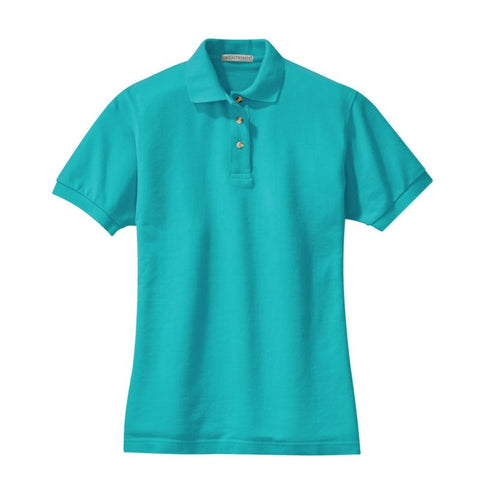 Port Authority Ladies Pique Knit Polo L420