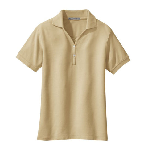 Port Authority  Ladies 100% Pima Cotton Polo  L448